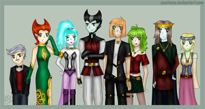 DP - The Arcanists by Asatsuyu