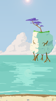 Tall Waters by ClearVector