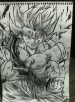 Goku super saiyan. by dannawi