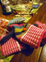 Winter Mittens by amateras11