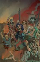 Zombie High School by Dhutchison