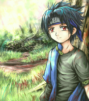 ooh tis Sasuke again by Soreiya