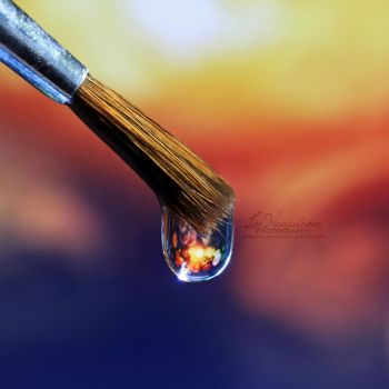 Fire and Water. by IndigoSummerr