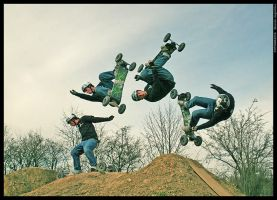Backflip Sequence by mjagiellicz