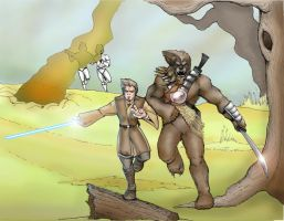 Clone Wars battleground by Mace2006