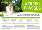 Exercise Classes by somsokal