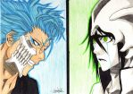 Grimmjow and Ulquiorra *3* by love-jerza