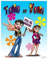 Groovy Tomo and Yomi by Captain-Galant