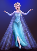 Queen Elsa by Lindenlin