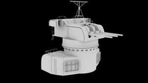 WIP Yamato main tower type two by MrSide