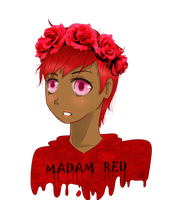 [Gift] Madam Red by ChaoticPuppetMaster