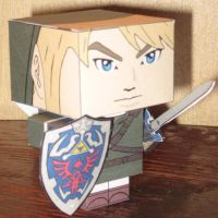 Link Cubee by paperart