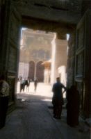 Damascus - Entrance of the Umayyad Mosque by in2ni
