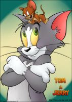 Tom and Jerry by lilip25