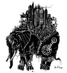Steampunk Elephant by Wystro
