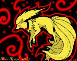 Garese Ninetails .:gift:. by PinkScooby54