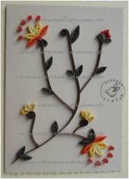 Quilling - Card 10 by Eti-chan