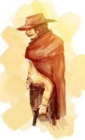 The Old Cowboy by AerinTook