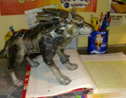 Wolf link papercraft picture 3 by Marlous2604
