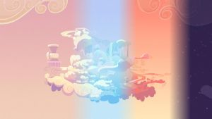 Cloudsdale (16:9) 24 hour animated background by UnintelGen