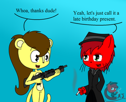 A Gift For Sabrina by Call-Me-Jack