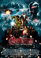The Avengers 2 - Age of Ultron Fan Movie Poster by dDsign