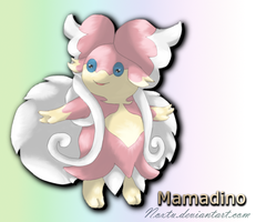 Fakemon Audino Evolution: Mamadino by Noxtu