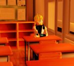 Sunset In Class by animefan9545