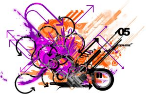 Vector Abstract multicoloured by Sgt-reapa