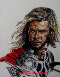 Thor in The Avengers by Sallysammy
