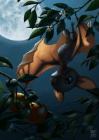 Bat Fruit by AndrewMcIntoshArt