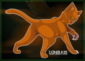 Power of Three - Lionblaze by airea-alto
