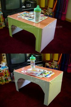 From Diaper Box to Lap Tray by BabyWolverine