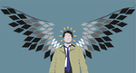 Castiel by shipleyweasley