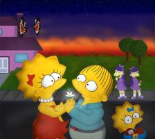 Lisa and Ralph by lil-worm