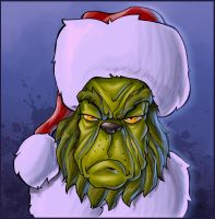 merry christmas, mr. grinch by robiant