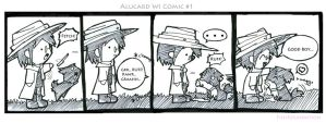 Alucard Wi Comic 1 by FishFoundation