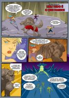 Fantasy Comic page by Magmard
