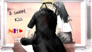 NaruHina-Sweet-Kiss by 0xMelyx0