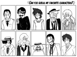 Favorite Character Meme by Fauna93