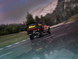 Mitsubishi pajero rally by kios