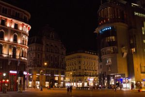 Wien by night by tiquitiqui