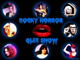Rocky Horror GLEE Show by beginthebegin