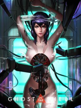 GHOST IN THE SHELL by Liang-Xing
