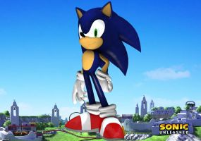 Sonic unleashed by eggmanteen
