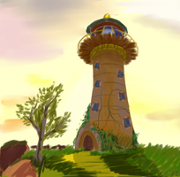 Lighthouse by Azizla