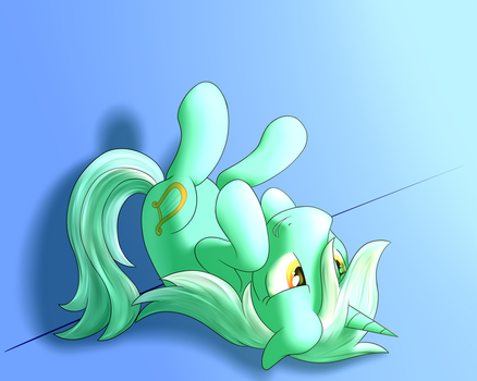 Lyra Being Cute (COMMISSION) by marioandsonicFTW