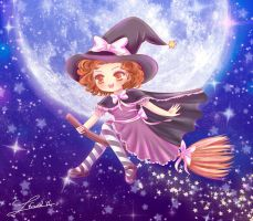 My mini witch by Nawal