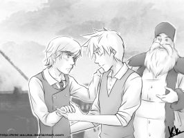 You should wear it [Frostcup Anastasia!AU] by Kiki-Asuka