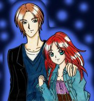 Leon and Claire:  First Photo Together by LeonandClaireBSAA